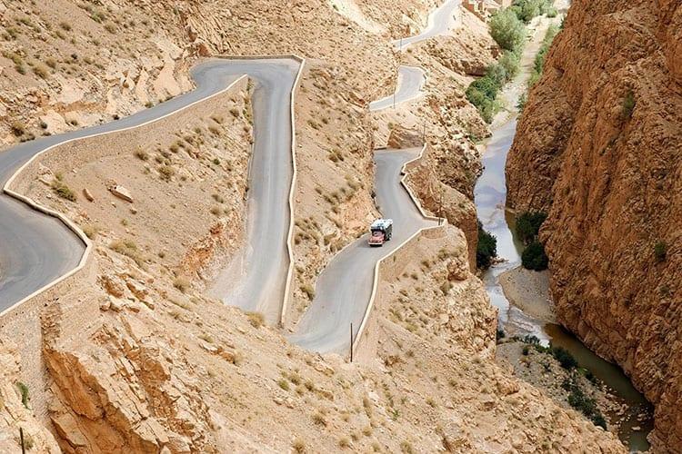 Dadès Kloof, Marokko