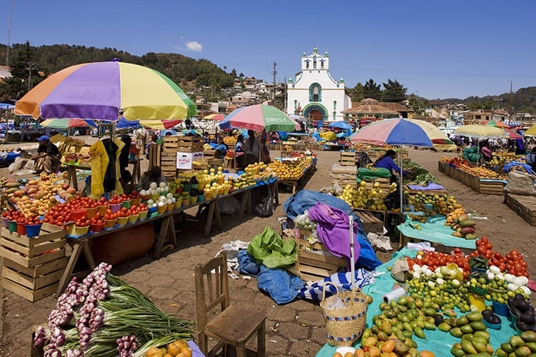 San Juan Chamula markt