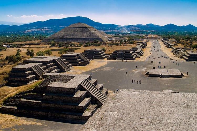 Avenue van de Doden, Teotihuacán