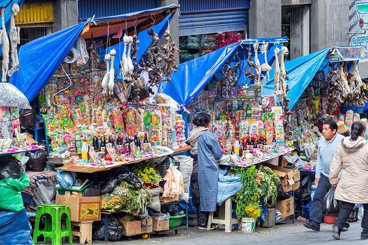 Heksenmarkt, La Paz
