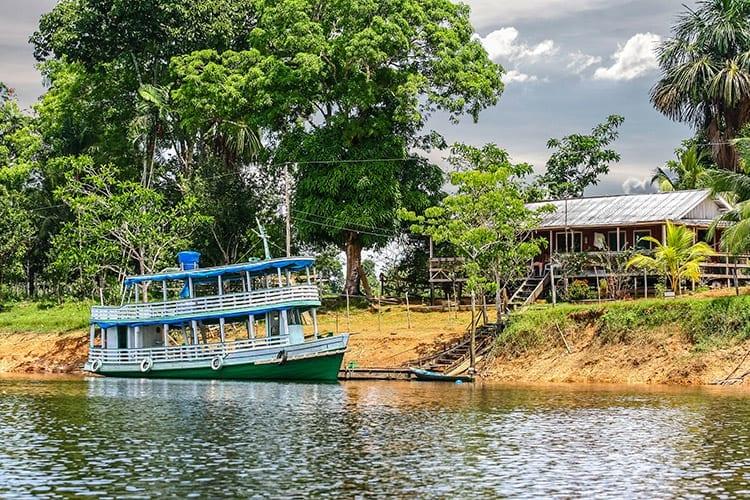 De omgeving van Manaus