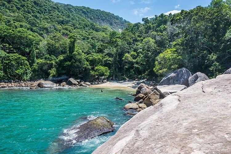 Strand op Ilha Grande