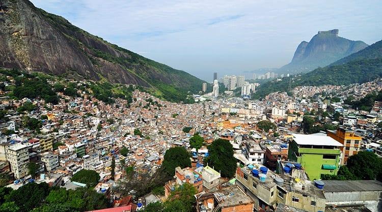 De favela's van Rio
