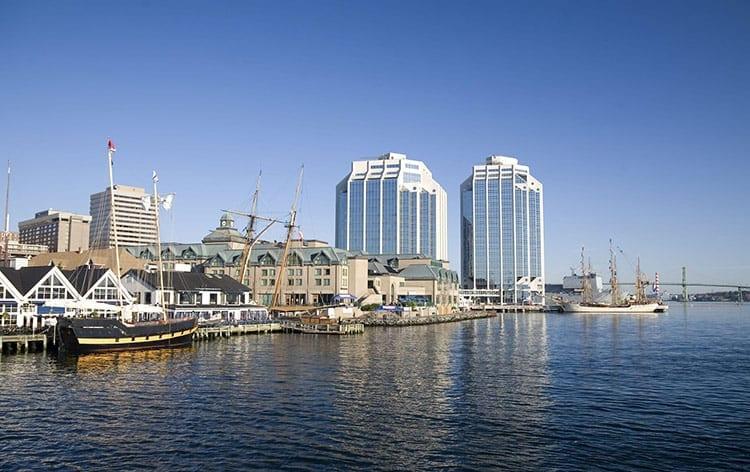 Purdy's Wharf in Halifax, Nova Scotia