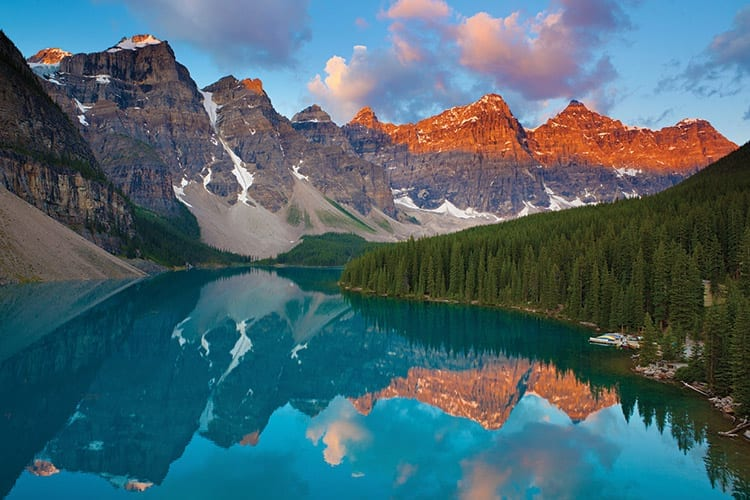 Valley of the Ten Peaks bij Moraine Lake