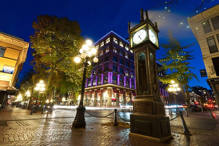 Steam Clock in Gastown