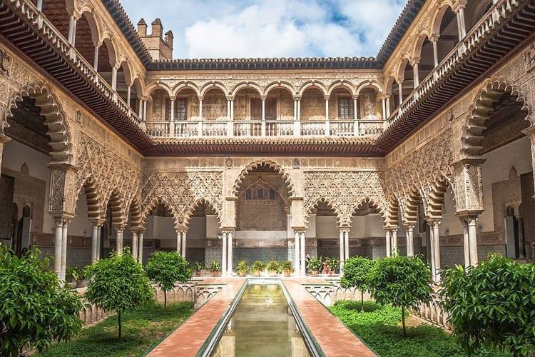 Koninklijk Paleis van Sevilla, Spanje