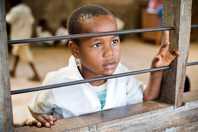 Kind in Mombasa