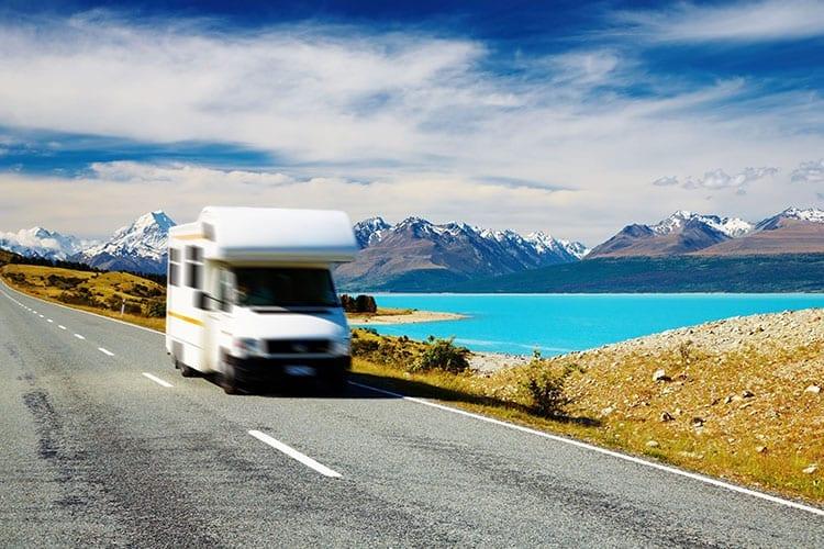 Reizen per camper in Nieuw-Zeeland