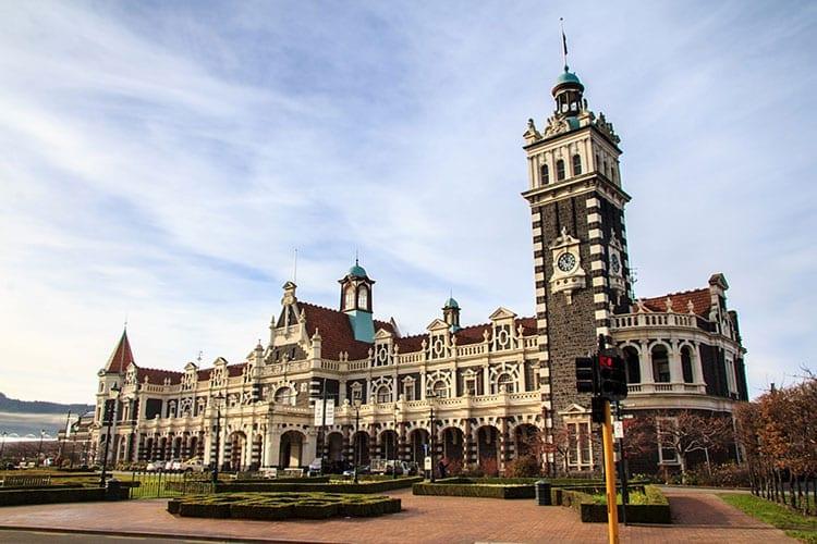Railway Station in Dunedin