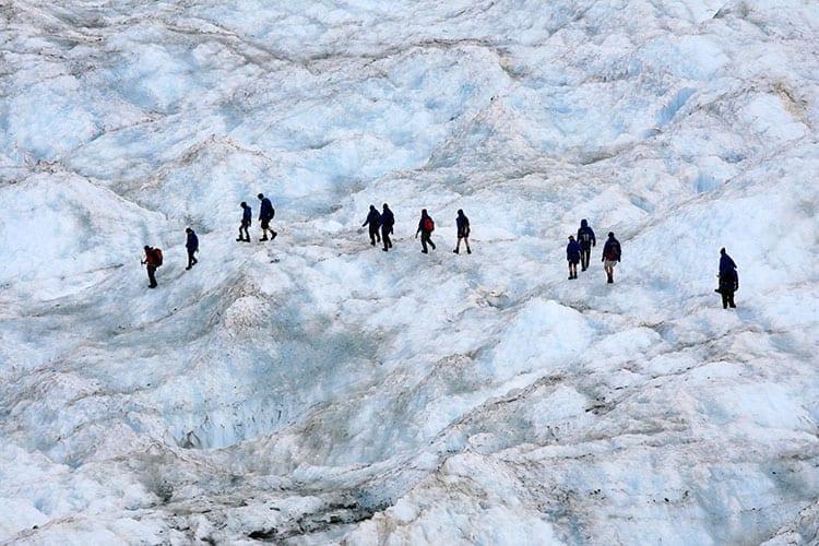 Wandeling de Franz Josef Glacier