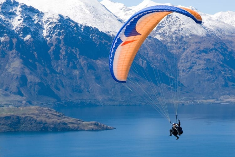 Extreme sporten in Queenstown