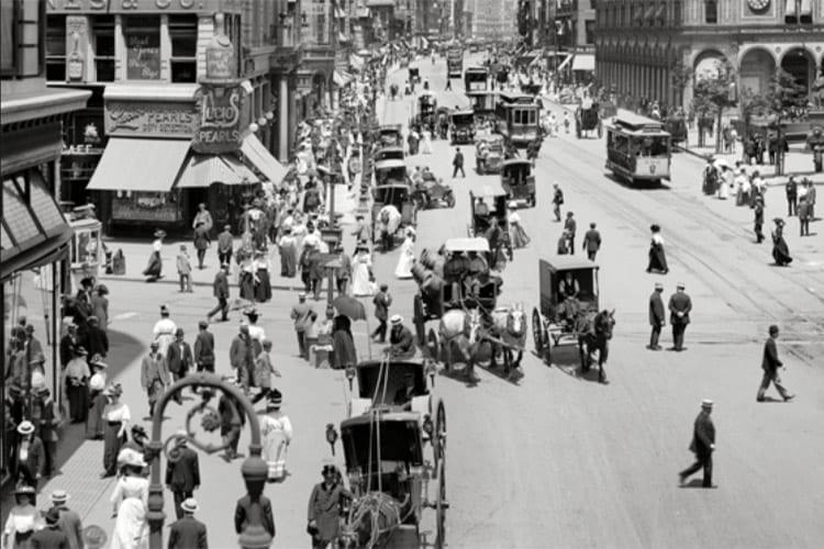 Oudste bewegende beeldmateriaal van New York