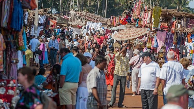 Anjuna markt
