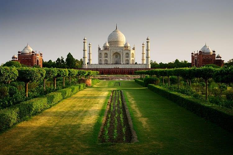 Taj Mahal met tuin