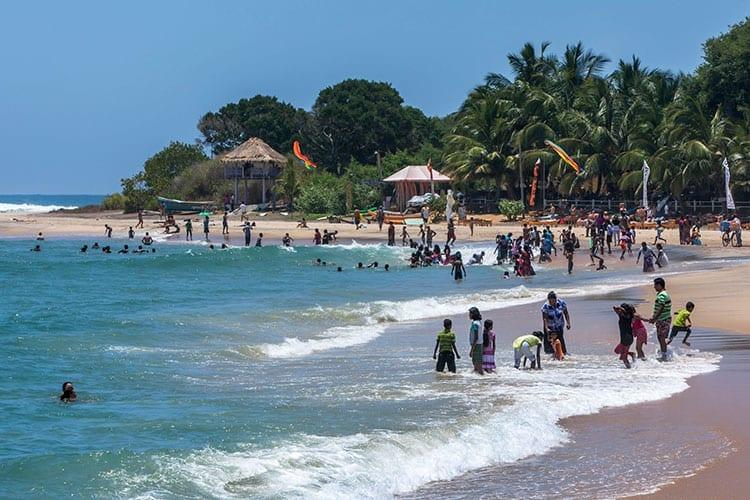 Arugam Bay strand