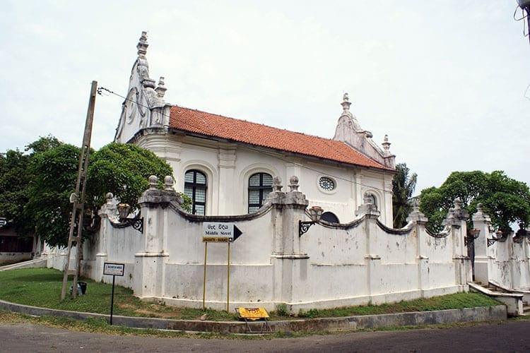 Nederduits Gereformeerde 'Groote Kerk', Galle