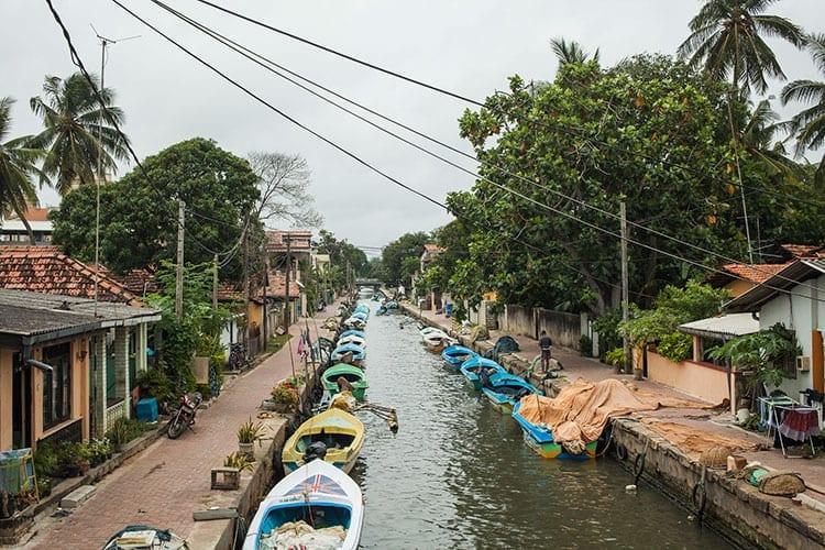 Negombo kanalen