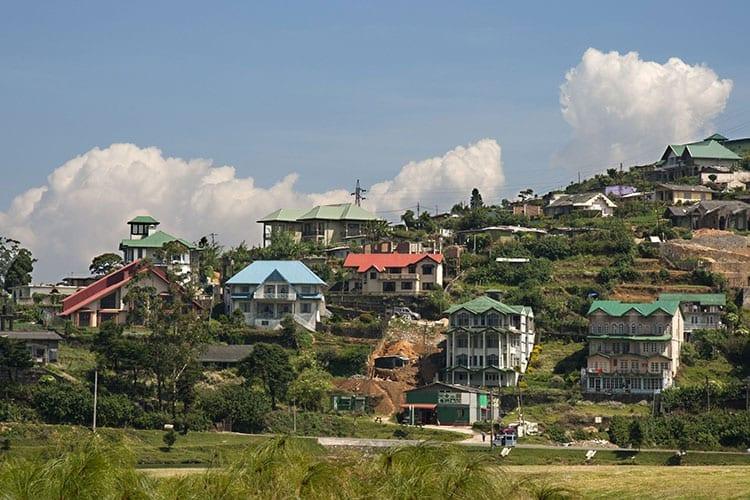 Villa's in de heuvels bij Nuwara Eliya