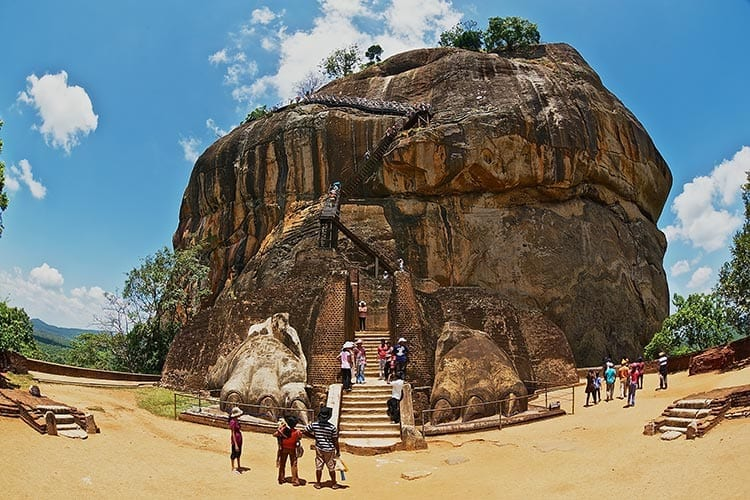De Lion Rock in Sigiriya