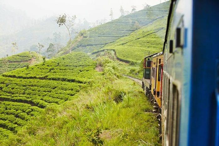 Treinreis van Ella naar Kandy