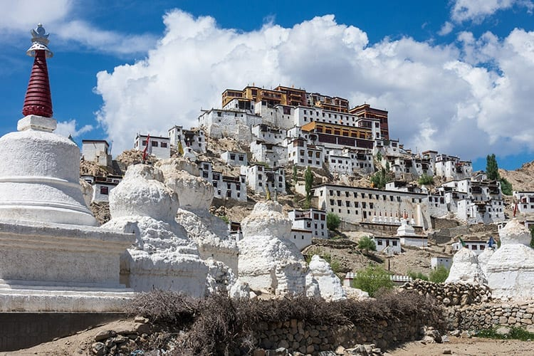Thiksey Gompa klooster