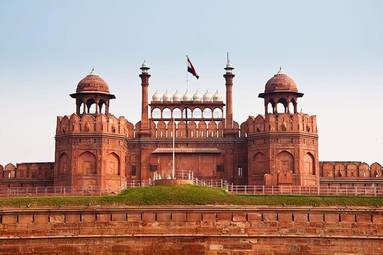 Het Rode Fort, New Delhi