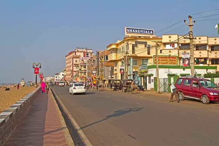 Strand bij Puri