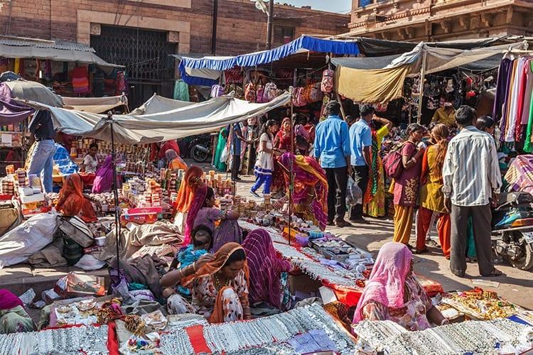 Markt in Jodphur