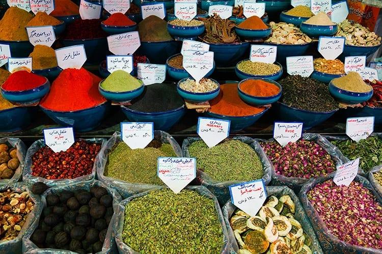 Markt in Iran