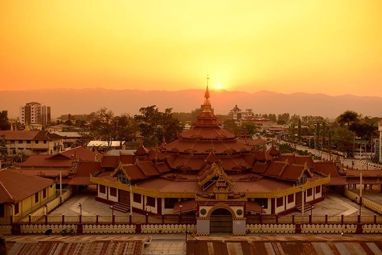Boeddhistisch klooster in Nyaungshwe