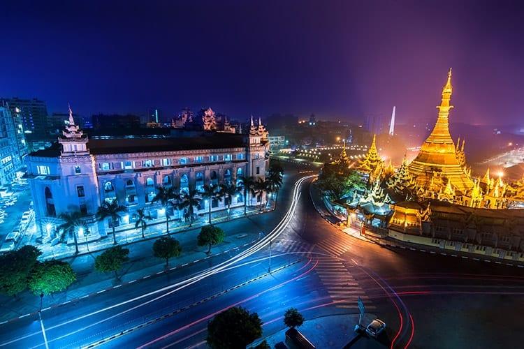 Yangon bezienswaardigheden