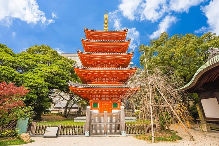 Tocho-ji tempel, Fukuoka