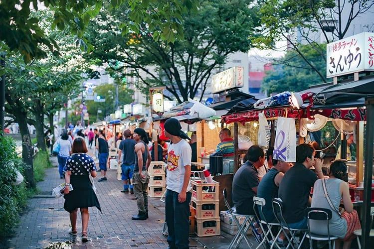 Yatai Food Market, Fukuoka