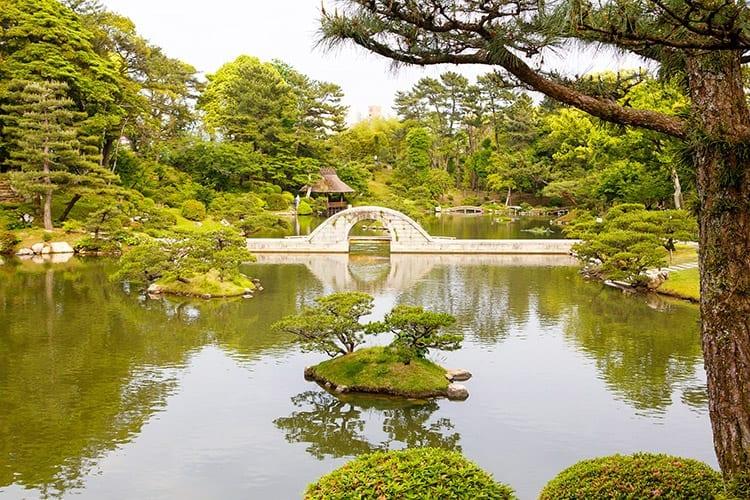 Shukkei-en, Hiroshima