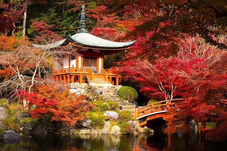 Daigo-Ji tempel in Kyoto