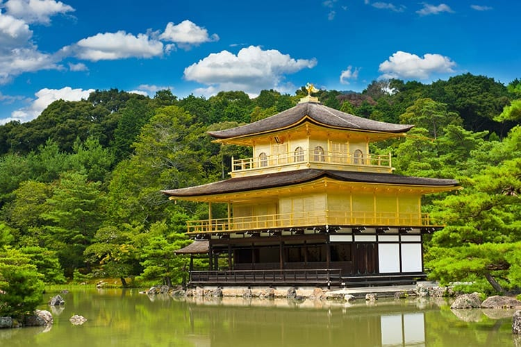 Gouden Paviljoen, Kyoto
