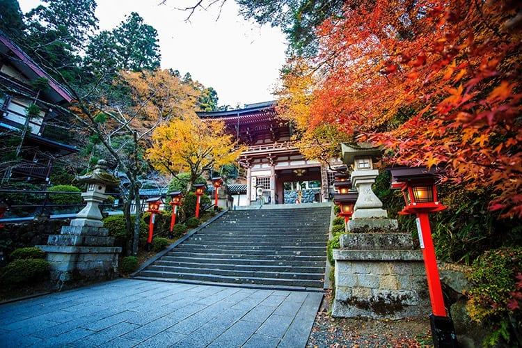 Kurama-dera tempel, Kyoto