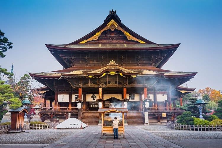 Zenko-Ji tempel in Nagano