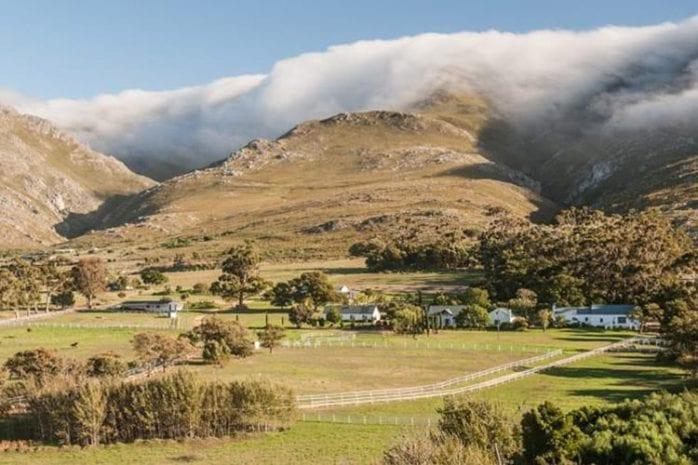 Landhuis accommodaties in Zuid-Afrik