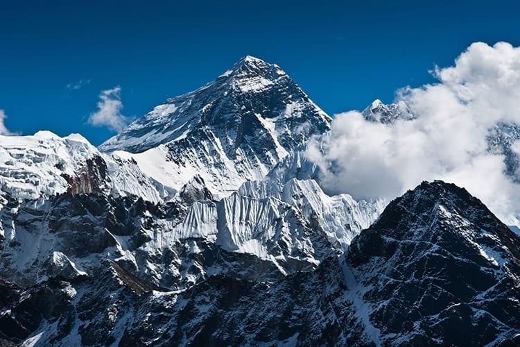 Himalaya bergvlucht