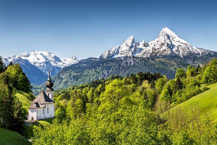 Duitsland, Beieren, Maria Gern bedevaartskerk