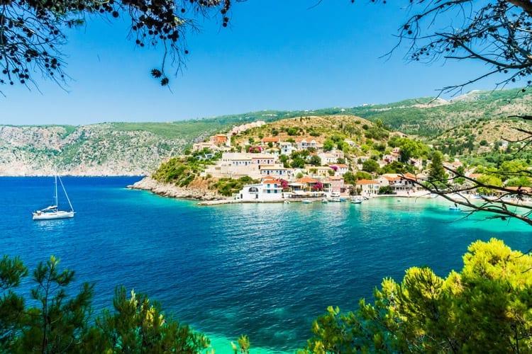 Griekenland, Kefalonia, Assos