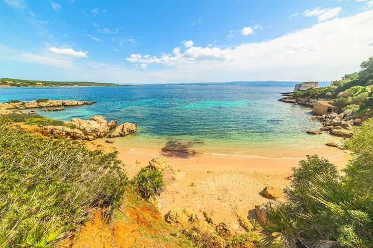 Strand nabij Alghero