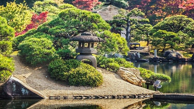 Koraku-en tuin, Okayama