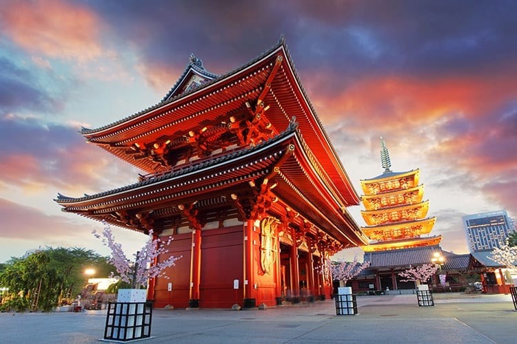 Senso-ji tempel, Tokyo