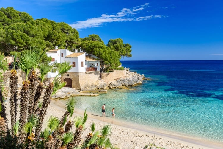 Spanje, Mallorca, Ratjada, Cala Gat