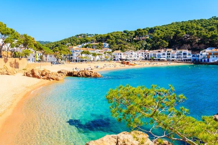 Spanje, Costa Brava, Tamariu
