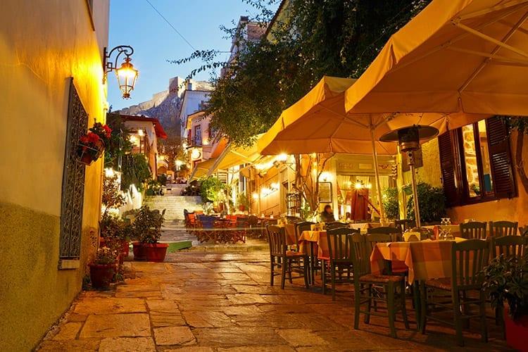 Plaka, Athene