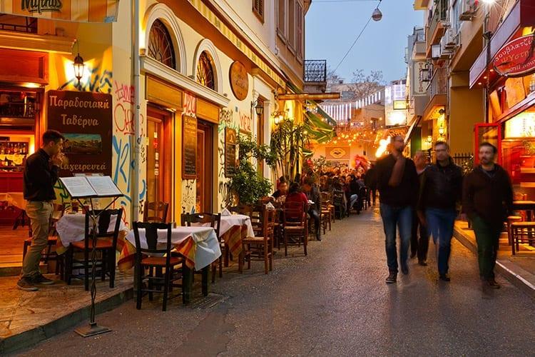Psirri, Athene